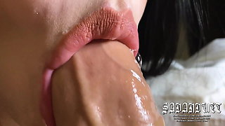 ASMR – The Best Blowjob Of Your Life, Throbbing Oral Creampie