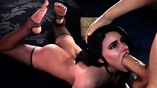 3D The Witcher porn compilation sex