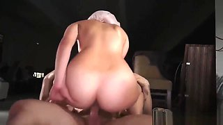 Big ass arab and wife share Aamir's Delivery
