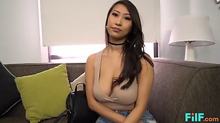 Hot French Asian Chick