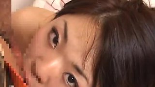 Shy mature Japanese woman gets her hairy pussy pounded