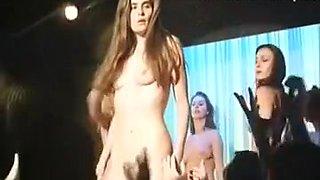 emmanuelle seigner striptease nude on stage vintage 90s