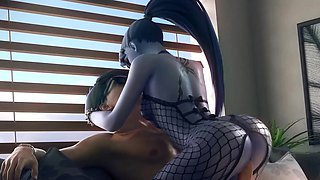 3D Gentle Babes Getting Fucked Their Pussies