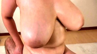 Curvy Asian wife enjoys a hot massage and a deep fucking