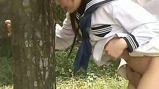 Outdoor School Girl Day Fuck Exposure