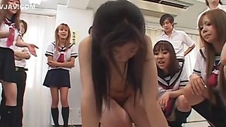 Exotic Japanese chick in Incredible Slave, BDSM JAV clip