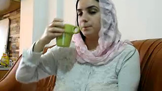 Hot Arabic sexy aunty boob press and fucked well