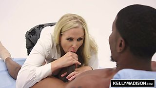KELLY MADISON.com  Isiah Maxwell Pounds Big Tit MILF's Pussy