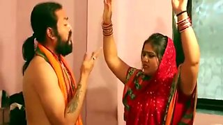 Ashram guru fuck innocent Indian housewife