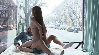 Amazing Empera Takes Dares while Naked in Public