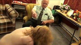 naked spanking