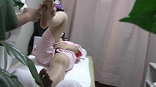 Real spy cam porn with full titted girl fucked by masseur