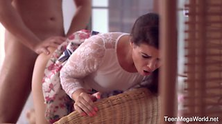 Rapacious and versatile Czech nympho Vany Ully thirsts for some good anal