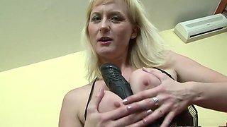 Exotic pornstar Monika Wipper in amazing dp, blonde sex scene