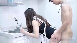 Creampie for young sexy Chinese beauty sister-in-law
