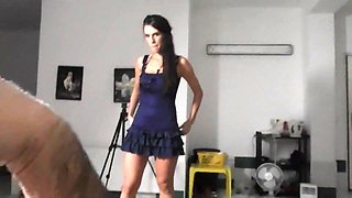 Czech beauty and her unforgettable lapdance