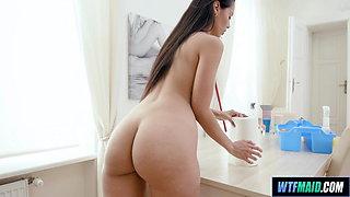 Fucking with the Latina Maid