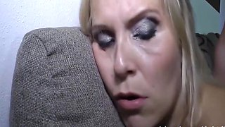 STOP! Mom Hates Brutal Orgasm By Son