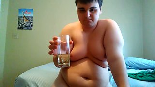 Drinking my own piss