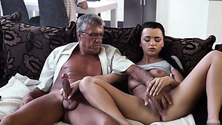 Old man eating hairy pussy What would you prefer -