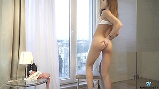Akira May And 18 Years Old - Cute Teen Rubs Her Pussy