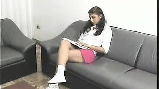 Teen Latina Striptease