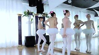 Tiny teen creampie Ballerinas