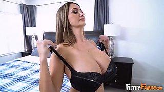 Huge tits Stepmom